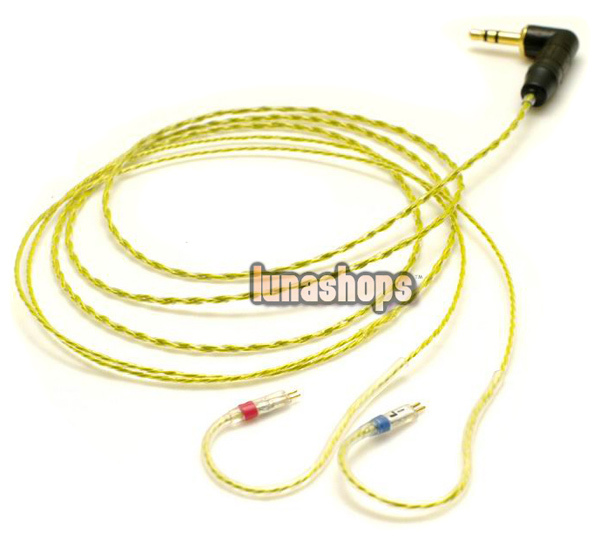 For Ultimate UE 5-PRO 10-PRO Upgrade Updated Earphone Cable LN001294 800 wires soft silver occ alloy teflo aft earphone cable for ultimate ears ue tf10 sf3 sf5 5eb 5pro triplefi 15vm ln005407