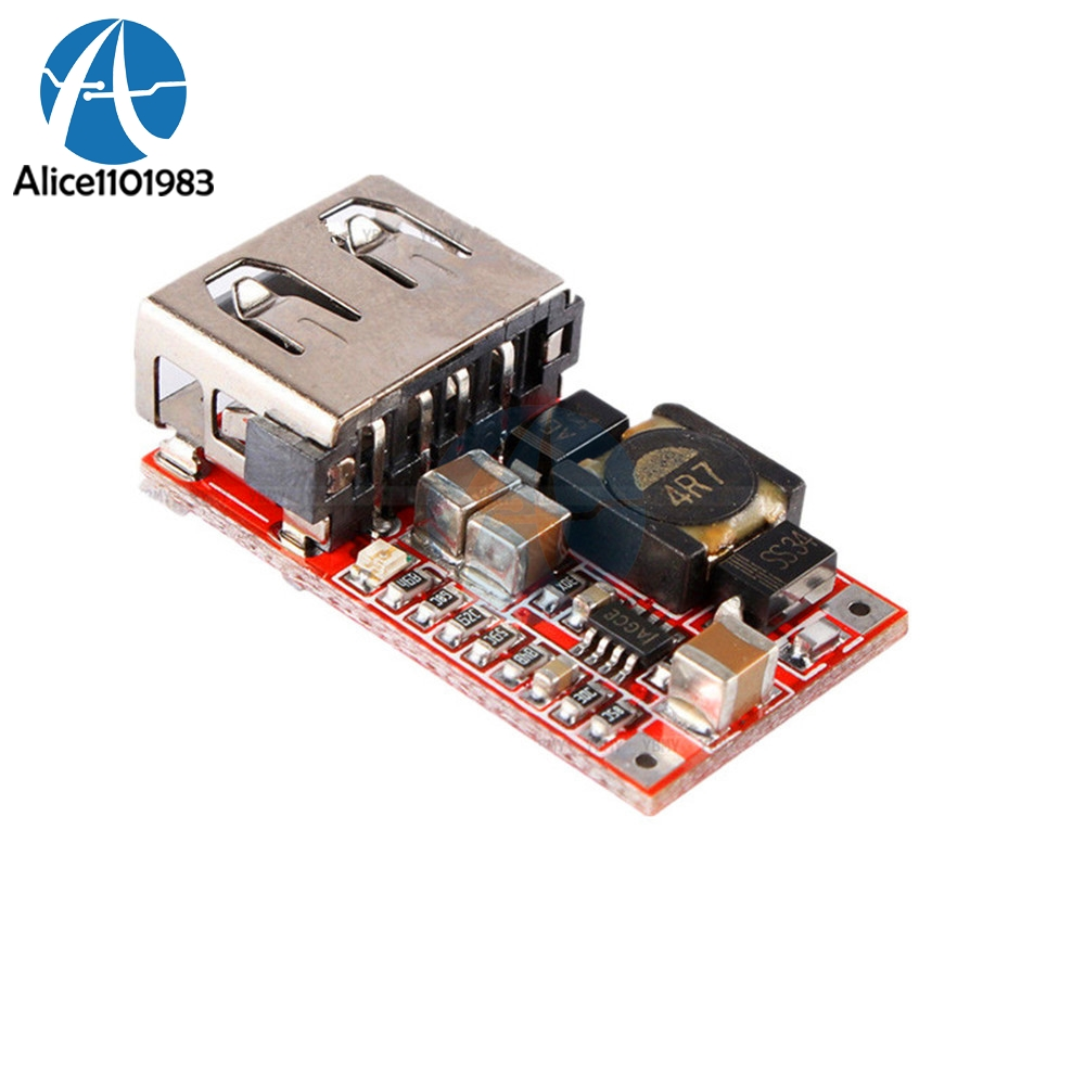 Usb Charger Step Down Module Dc Converter Car Power Download Image Ac 12v To 110v Circuit Pc Android Iphone 1 X 5v 3a