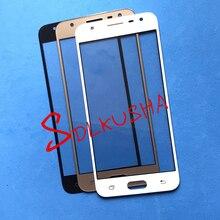 Écran tactile de remplacement de lentille en verre décran extérieur avant de 10 pièces pour Samsung Galaxy J5 Prime G570 G570F G570DS G570Y