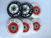8 Wheels Hot Skating Product Free Shipping Skate Wheels Spark Wheel PU85A 72mm76mm80mm
