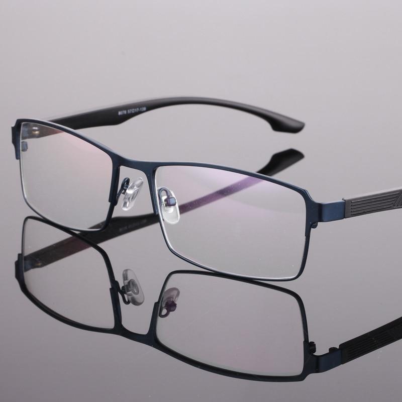Men fashion glasses Sturdy myopia Full frame can be equipped myopia lens TR90 glasses legs prescription glasses 8078
