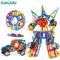 KACUU 78PCS Big Size Magnetic Designer Building Blocks Model Building & Construction Toys Brick Magnetic Toys for Children Gift