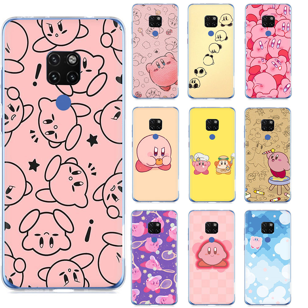Game Kirby Series Hard Phone Case for Huawei Mate 10 20 30 Pro Nova 2i 3i 3 5i Lite Y5 Y9 6 7 9 2017 Prime 2018 Cover image