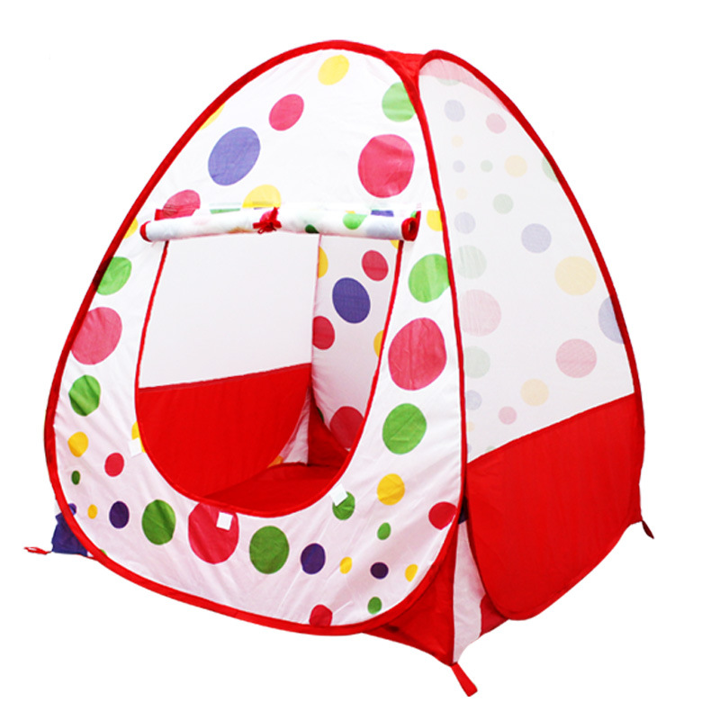 Childrens Play Ball Tents kids room bed or beach game tent house indoors outdoors Foldable Ball storage pool