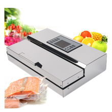 Купить с кэшбэком ITOP Semi-commercial Vacuum Sealer Automatic Food Vacuum Packing Machine Food Processor With 2 Roll 500cm Bags Ship From Russia