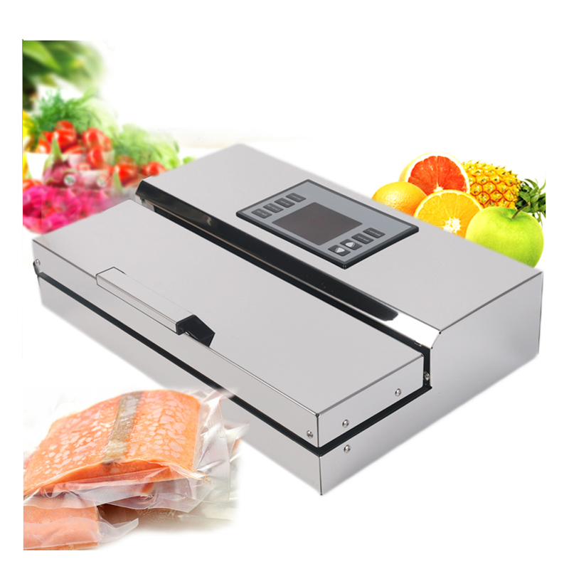 ITOP Semi commercial Vacuum Sealer Automatic Food Vacuum Packing Machine Food Processor With Packing Bags Ship From Russia