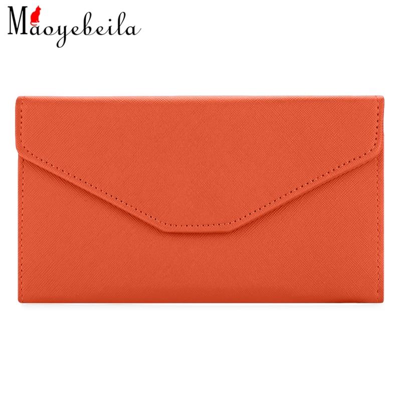 Clutch Wallets Passport-Bag Lady Purse Multi-Functional Long Hasp 19cm--11cm--3cm Envelope-Type
