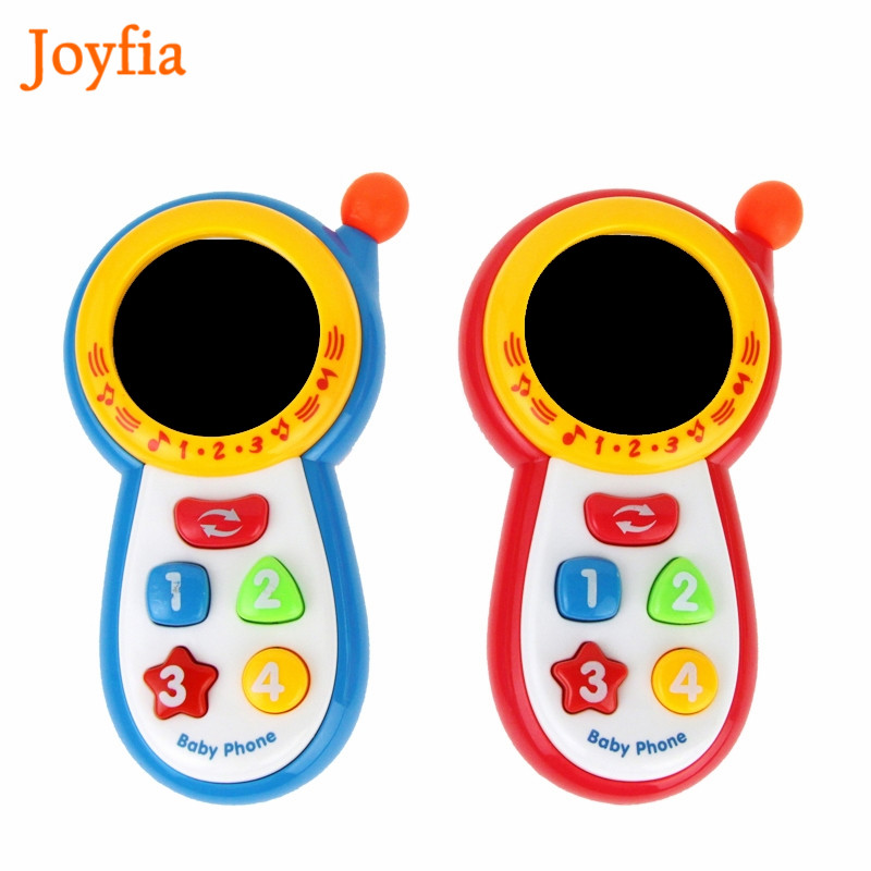 Baby Pretend Mobile Phone Toy Educational Learning Cell Phone Music Machine Electronic Toys For Children Kids Musical Gifts #