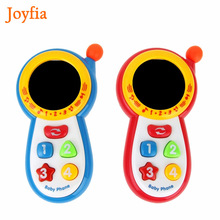 Baby Pretend Mobile Phone Toy Educational Learning Cell Phone Music Machine Electronic Toys For Children Kids Musical Gifts