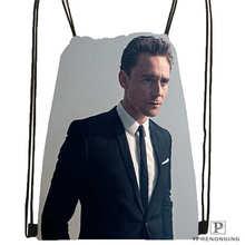 Custom Tom_Hiddleston_Cannes @01-Drawstring Backpack Bag Cute Daypack Kids Satchel (Black Back) 31x40cm#180611-01-36