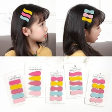 Candygirl 5PCS/SET Candy Hair Pins Cute Snap Hairclips for Girls Kid BB Barrette Styling Headpiece Set Accessories Tools