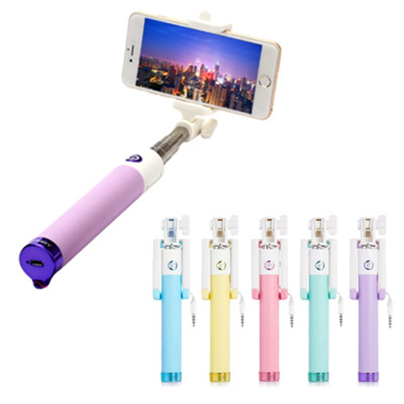 Wired Selfie Stick Universal For Android For iPhone 6 For Samsung ASUS Zenfone For Huawei Xiaomi Monopod Phone Accessories Z20