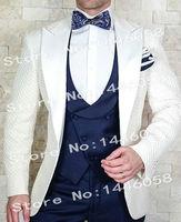 Men Suits 2018 Elegant Brand Slim Fit Smoking Blazer Prom Suit Men Costume Homme Wedding Tuxedo Groom Suits For Wedding