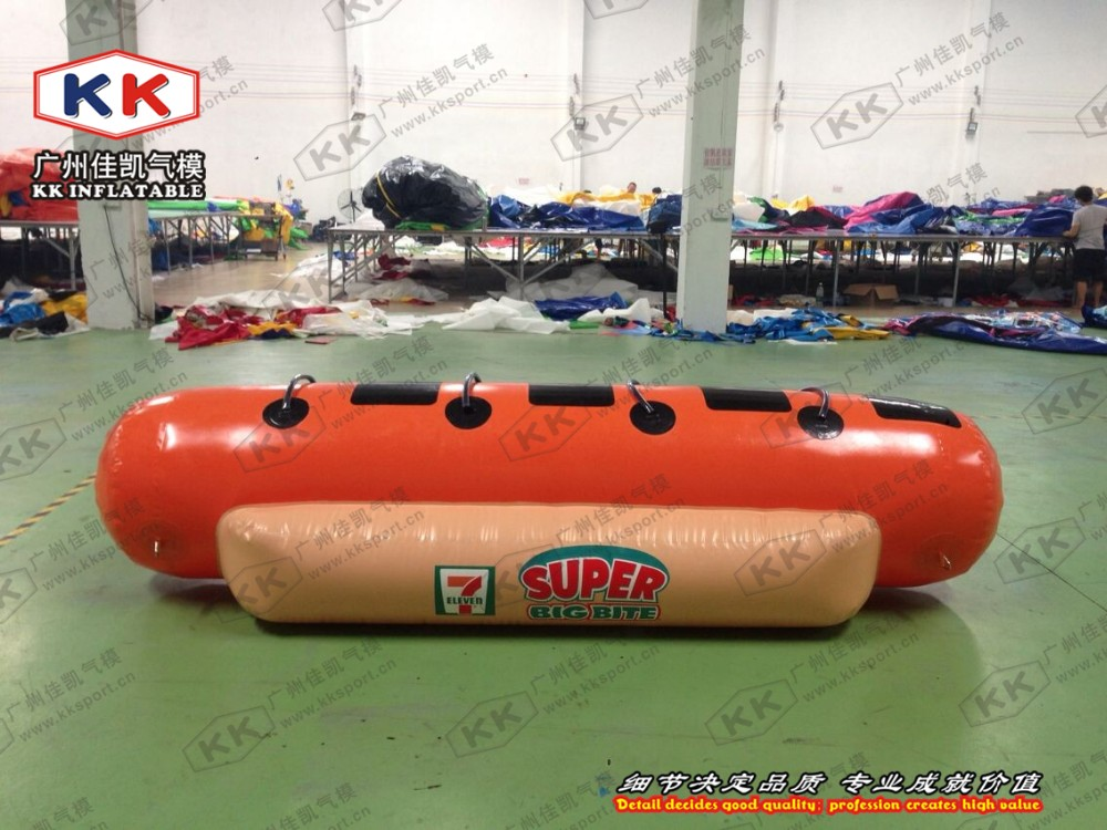 Water Park 4 Seats Inflatable Durable sausage boat inflatable pool float ...