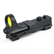 Тактический красный точечный прицел EX 182 элемент SeeMore Железнодорожный рефлекс C-MORE оптический прицел 6 цветов оптика охотничьи прицелы