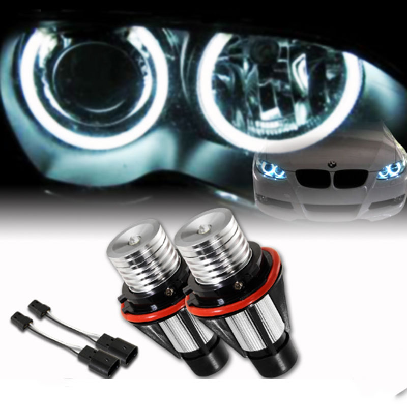 Xplus 6W*2 12W E39 E53 E60 E61 E63 E65 E66 E87 Cree Chips Lamp LED For Angel Eyes Marker Bulbs for BMW 5 6 7 Series X3 X5
