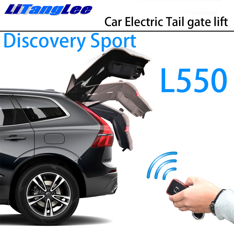 LiTangLee Car Electric Tail Gate Lift Trunk Rear Door Assist System For Land Rover Discovery Sport L550 2014~2019 Remote Control