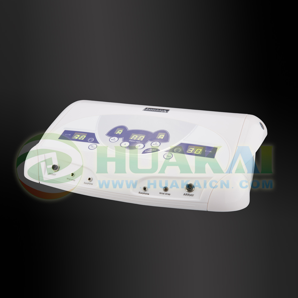Dual detox cell spa machine with MP3 function the highest dual detox cell spa machine