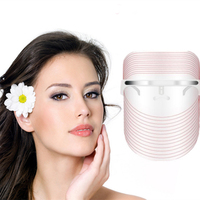 3 Colors Facial LED Mask Machine Photon Therapy Light Anti Wrinkle Acne Removal Skin Rejuvenation Facial Skin Care Beauty Device