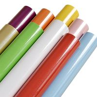 New waterproof PVC Pure Color wallpaper self adhesive wall paper roll Furniture Wardrobe renovation stickers Home Decor
