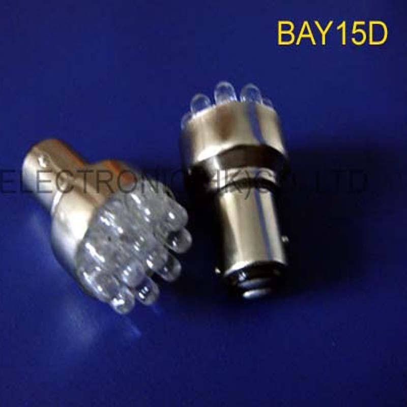 High quality DC12V PY21/4W BAZ15d Car Led Brake Stoplights 1157 Parking Light Bulb,BAY15D Socket Lamp free shipping 50pcs/lot