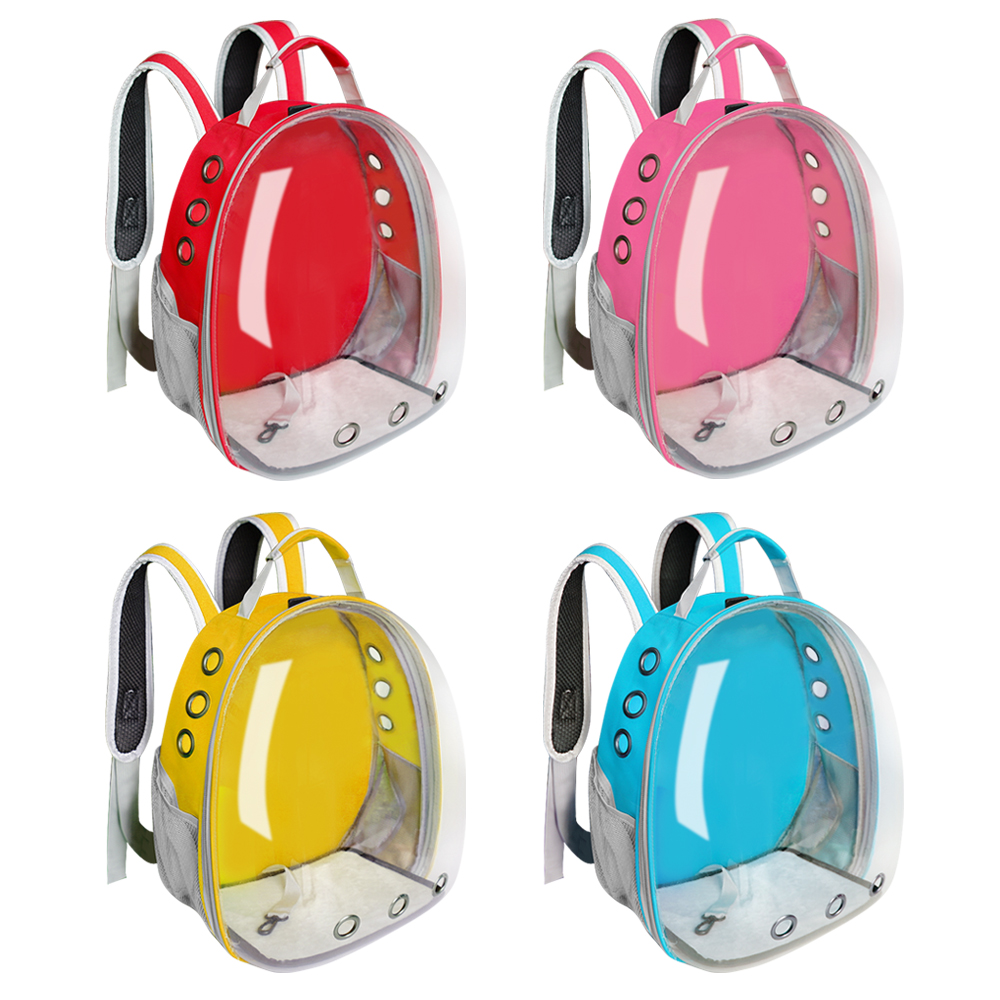Cat Carrier Bag Breathable Transparent Puppy Cat Backpack Cats Box Cage Small Dog Pet Travel Carrier Handbag Space Capsule 3