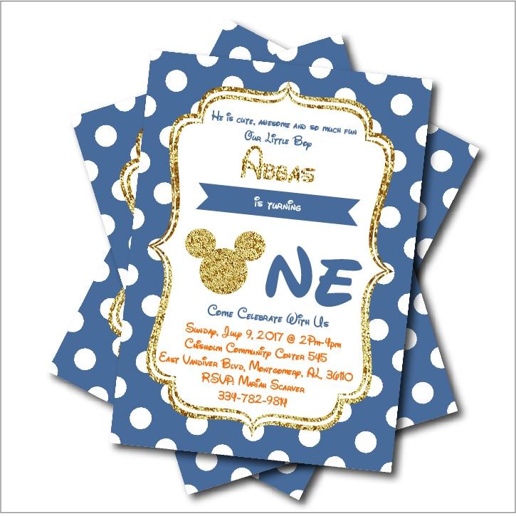 4 81 41 De Descuento 14 Unids Lote Personalizado Mickey Mouse Cumpleaños Invitaciones Baby Shower Invitación Niño Cumpleaños Fiesta Decoración