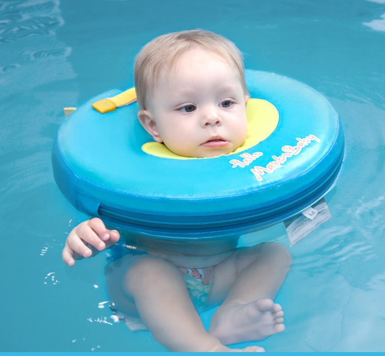 Activity & Gear Mother & Kids 1pcs Neck Float Swimming Newborn Baby Swimming Neck Ring With Pump Gift Mattress Cartoon Pool Swim Ring 0-2 Years Old Baby