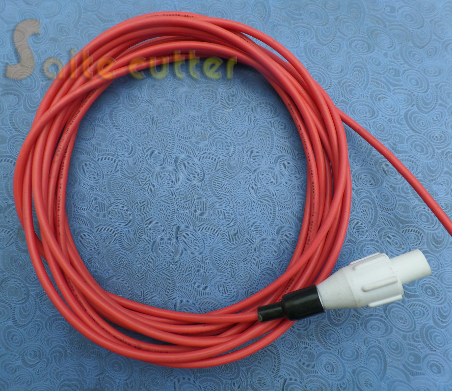High Voltage Cable 3M Length For CO2 Laser Power Supply And Laser Tube Laser Engraving And Cutting Machine