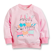 2015 New fall baby girls t-shirts,cotton long sleeve tops,children tees printed David's deer, kids casual clothes for 1-6 years 2018 back to school fall baby girls kids boutique clothes children stripe dress long sleeve apple cotton tops match accessories