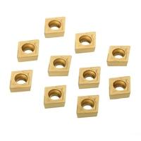 us735 כלי 10pcs זהב והתוספות CCMT060204 US735 והתוספות CCMT21.51 עם תיבת עבור CNC הפעלת כלי (5)