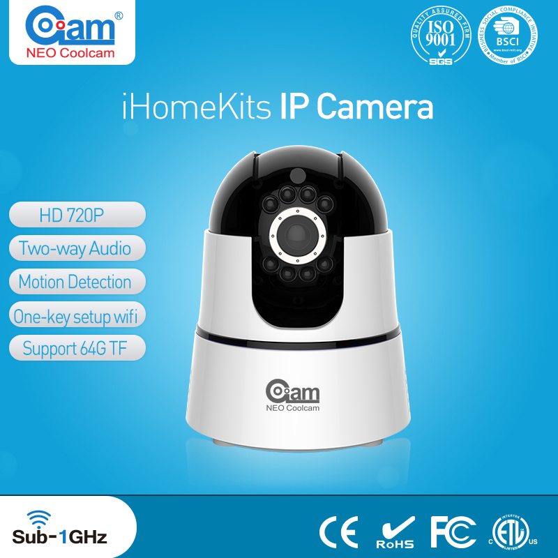 NEO Coolcam iHome Kits NIP-22F2G Wireless Alarm System Wifi IP Camera For Home Security