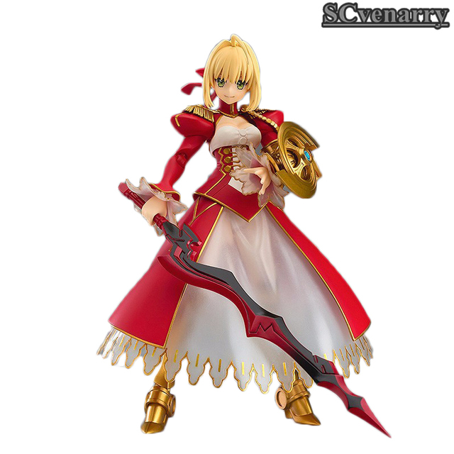 Fate Stay night Fate Saber NERO CLAUDIUS BJD Figure Model Toys Figma 370