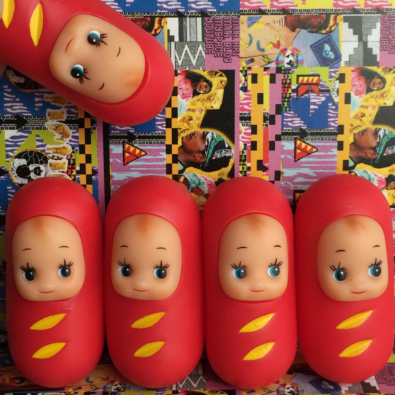 Toys 4 Brats : Japan salad sausage cute baby kewpie doll figure toy diy