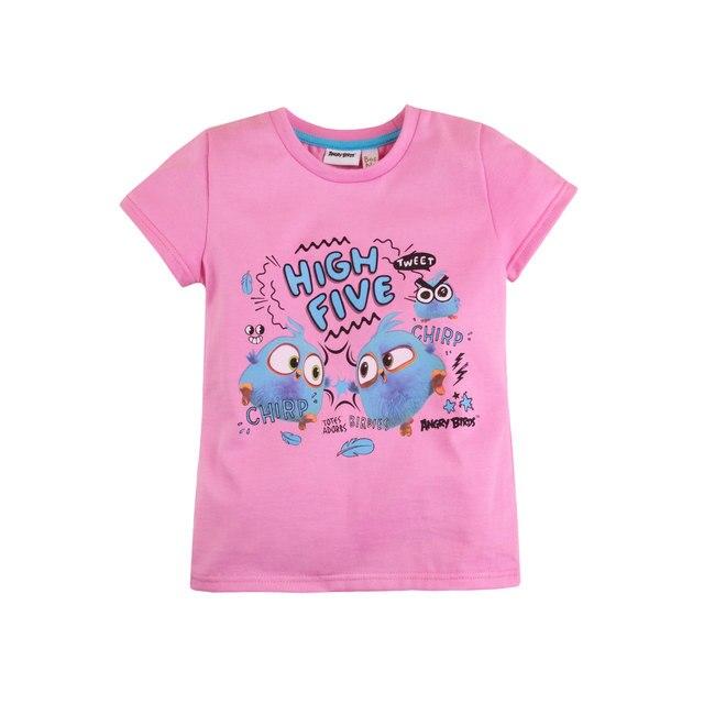 Футболка для девочки 'Angry Birds' BOSSA NOVA 251АБ-161р