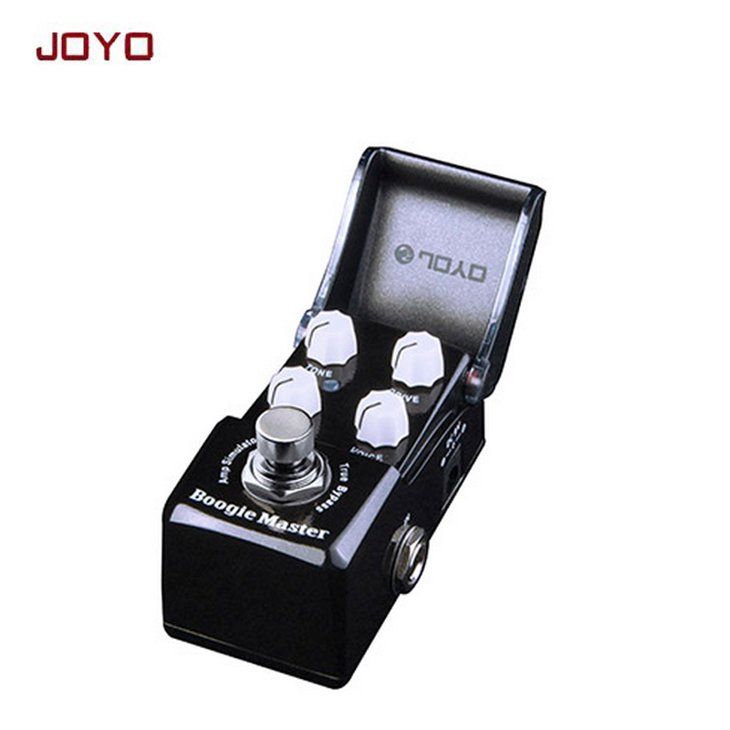 JOYO JF-309 Boogie Master Amp Simulator Mini Electric Guitar Effect Pedal True Bypass Guitarra Effect Pedal aroma adr 3 dumbler amp simulator guitar effect pedal mini single pedals with true bypass aluminium alloy guitar accessories