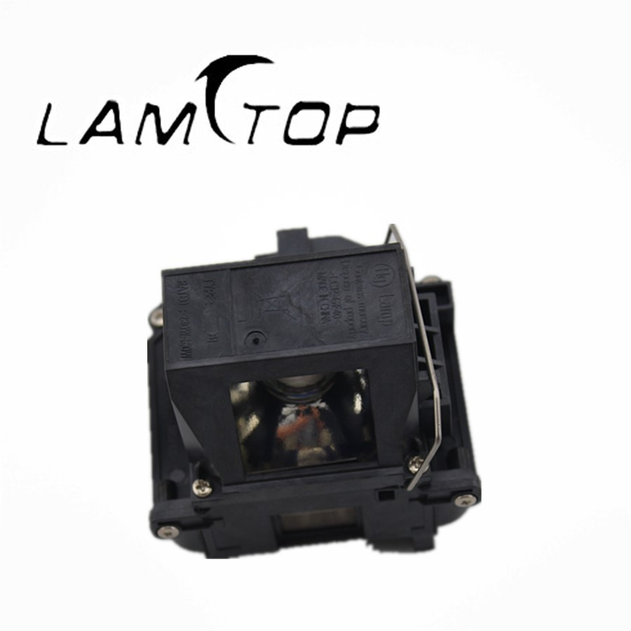 FREE SHIPPING LAMTOP Hot selling  original lamp  with housing  ELPLP61/V13H010L61  for  EB-CS520WI/EB-CS510XI free shipping lamtop hot selling original lamp with housing elplp61 v13h010l61 for eb 430 emp 1830