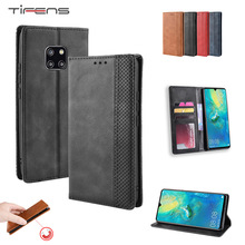 Leather Wallet Flip Case For Huawei P30 Mate 20 X Pro Lite Y5 Y6 Y7 Pr