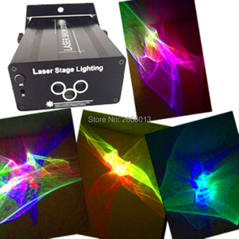 3 Lens RGB Laser Light Projector Stage Lighting Effect RGB LED Water Wave Effect Party Dance Disco DJ Holiday Xmas Lights Laser