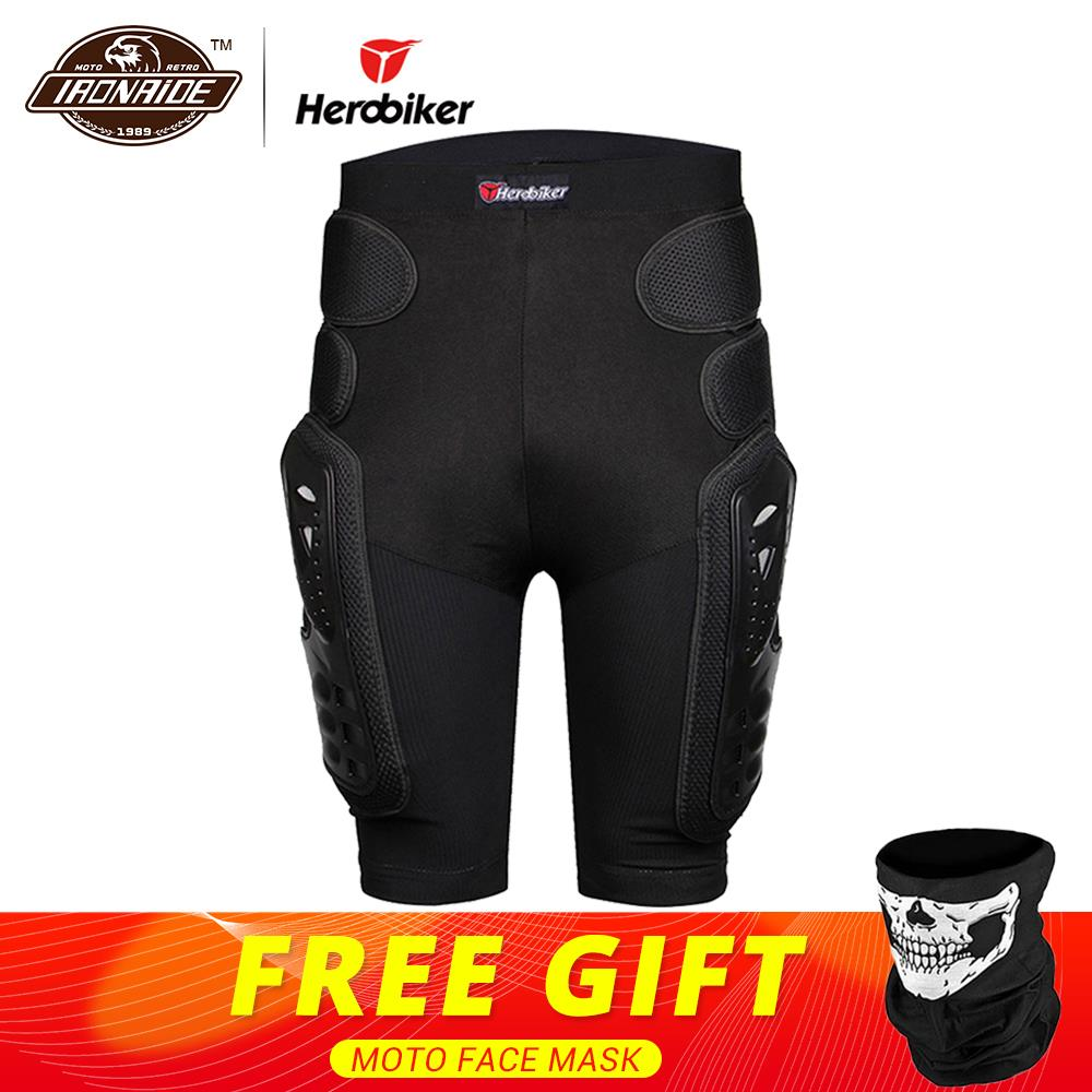 HEROBIKER Motocross Shorts Protector Motorfiets Shorts Moto Beschermende Gear Armor Pants Hip Protection Riding Racing Equipment