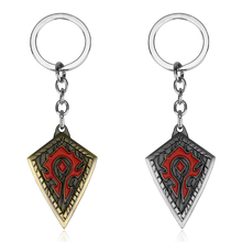 цена на Hot sale Game Series Wow World of Warcraft Hearthstone Heroes Metal Keychain For Fans Cool Keyring Jewelry Accessory Best Gift