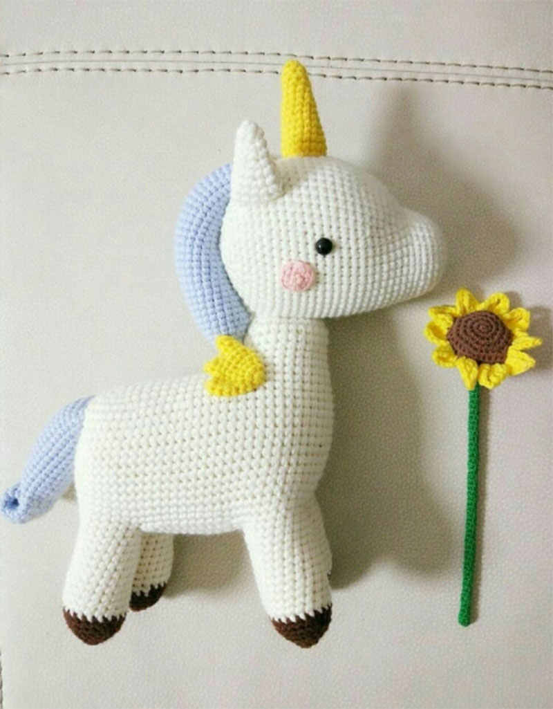 Crochet pattern Amigurumi unicorn pattern Unicorn plush   Etsy   1025x800