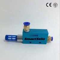 free shipping single stage vacuum ejector generator With Full Metal Jacket with silencer SVE63 92