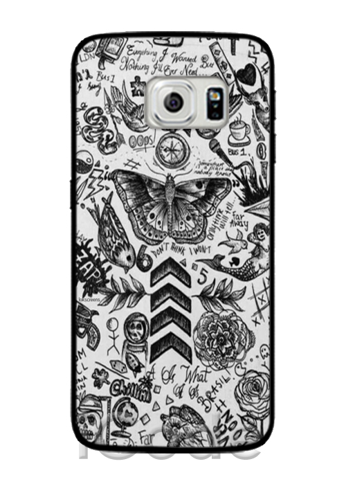 One direction tattoos phone cases cover for samsung galaxy for Tattoo artist iphone cases