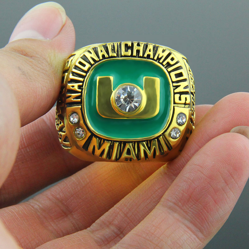 Miami Hurricanes National Championship Ring
