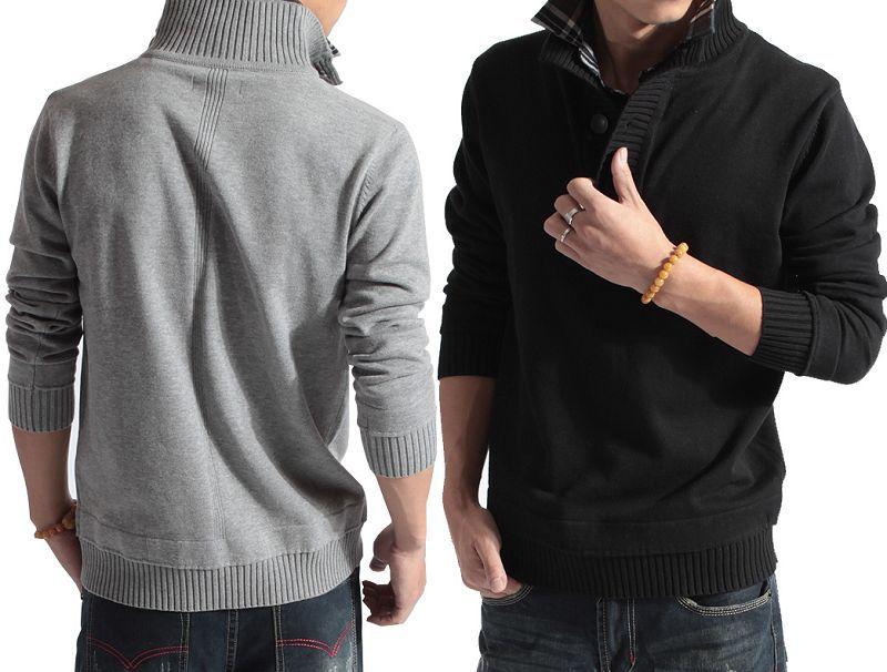 2013 nueva primavera hombres moda jerseys cardigans de