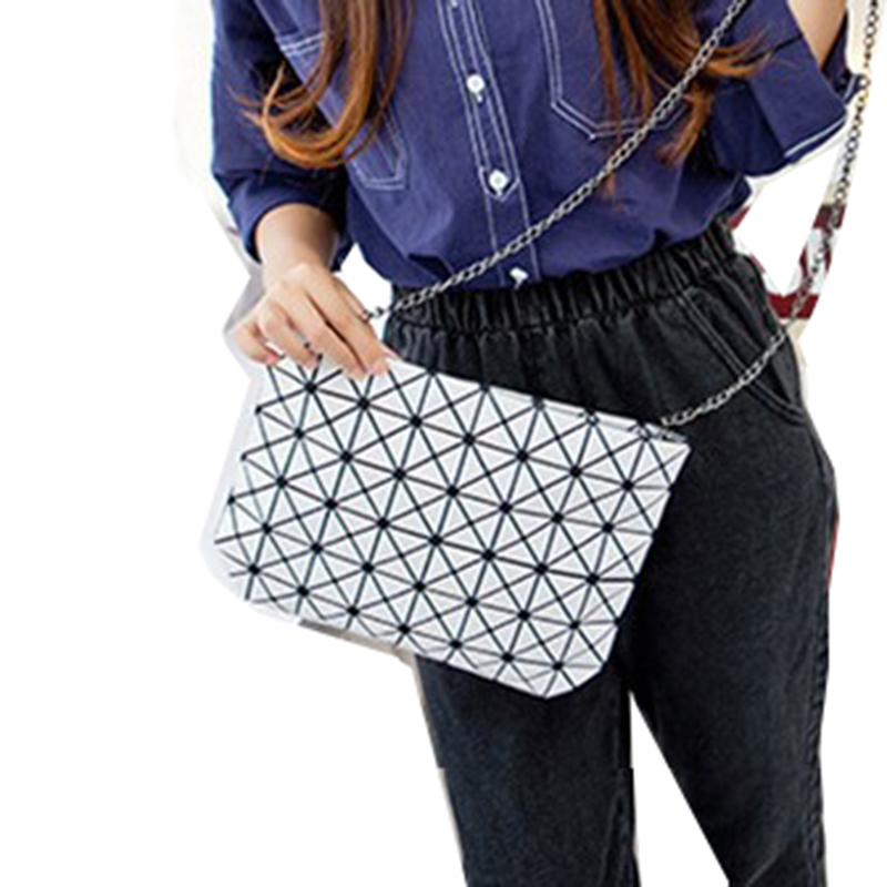 pequena dobra Trend Models : Lingge Portable Shoulder Messenger Bag