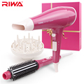 RIWA Hair Dryer Set With Hair Brush Comb Professional Styling Tools Gift Box Packaging