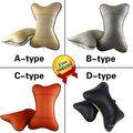 car neck headrest leather car rest cushion auto headrest cover Car seat head cushion Car seat cushion