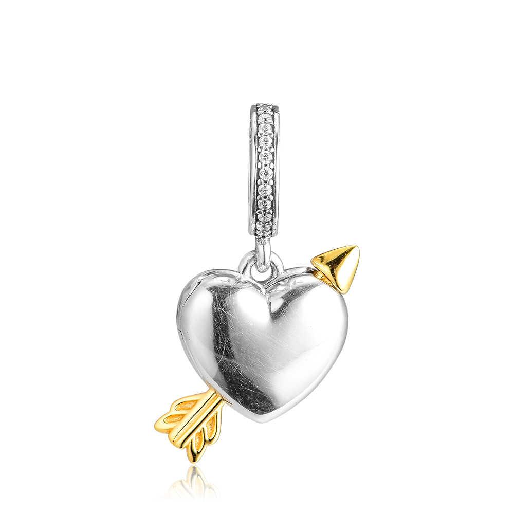 925 Ayar Gümüş Sınırlı Sayıda Ok Aşk Çekicilik, Temizle CZ Orijinal Takı Yapımı Için Uygun Bilezik ve Bileklik